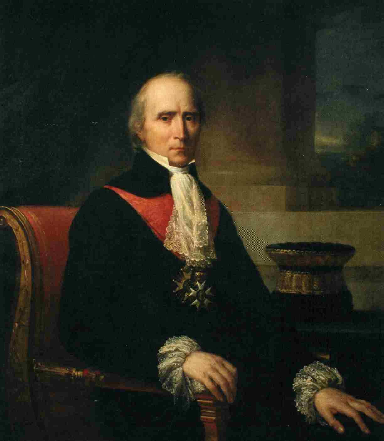 François Barbé de Marbois, Président de la Cour des Comptes, par J.P. Franque